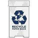 Paper Corrugated Plastic Recycling Bins Die cut corrugated plastic shapes, house cut, star, arrow, circle, star burst, diamond, white, yellow, red, 4mm white corrugated plastic sheets