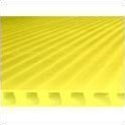 6mm 48 x 96 yellow plastic corrugated sheets pads coroplast