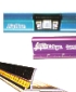 Safety rulers, cutting rulers, metal stright edges
